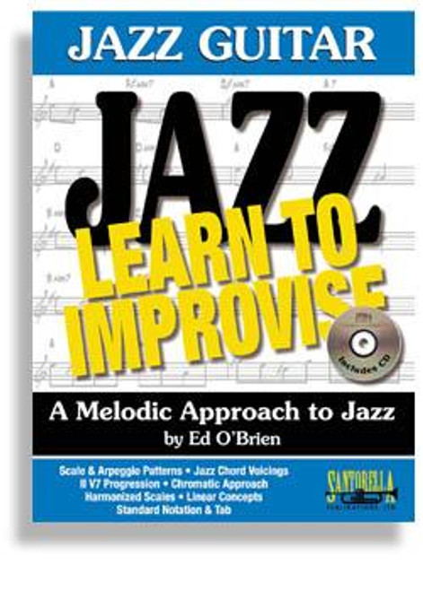Jazz Guitar * Learn To Improvise with CD