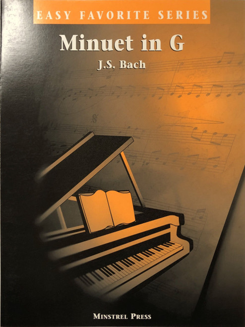 Minuet in G Easy Favorite Piano Sheet PDF Download
