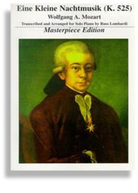 Eine Kleine Nachtmusik (K. 525) Masterpiece Edition Piano Solo PDF Download