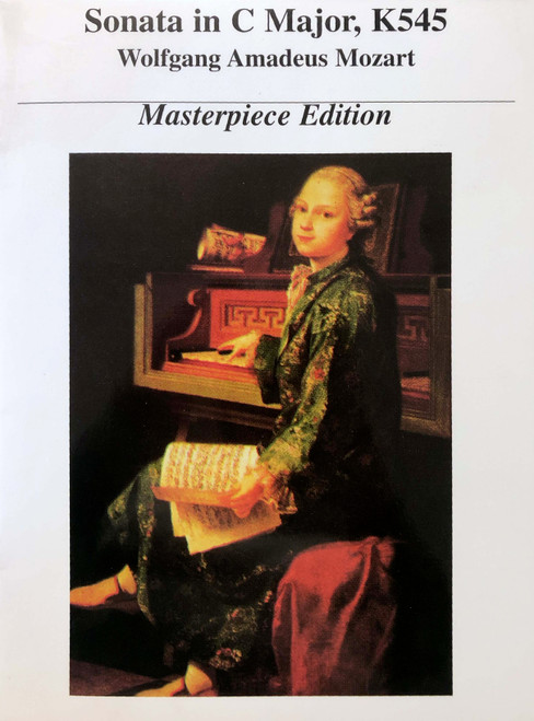 Sonata in C Major, K545 Masterpiece Edition Piano Solo PDF Download