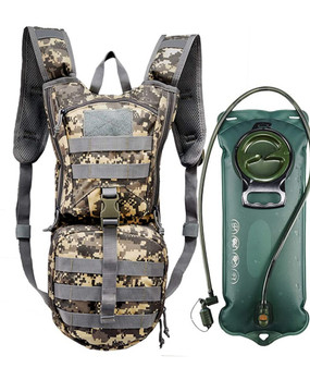 Tactical Hydration Pack Backpack 900D with 3L Bladder for Hiking, Biking, Running, Walking and Climbing
