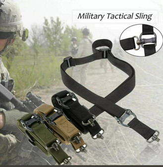 Tactical TWO-Point QD Swivel Mount Rifle Sling