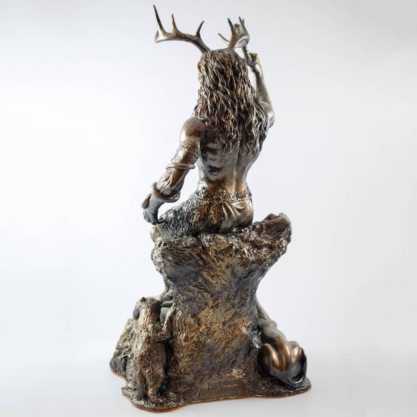 Cernunnos - Hand cast statue