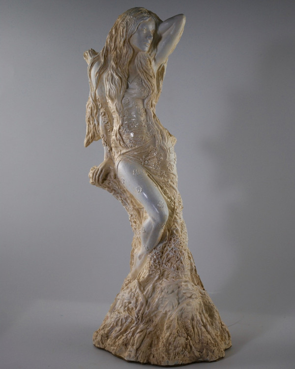 Blodeuedd / Blodeuwedd - Handcast Statue