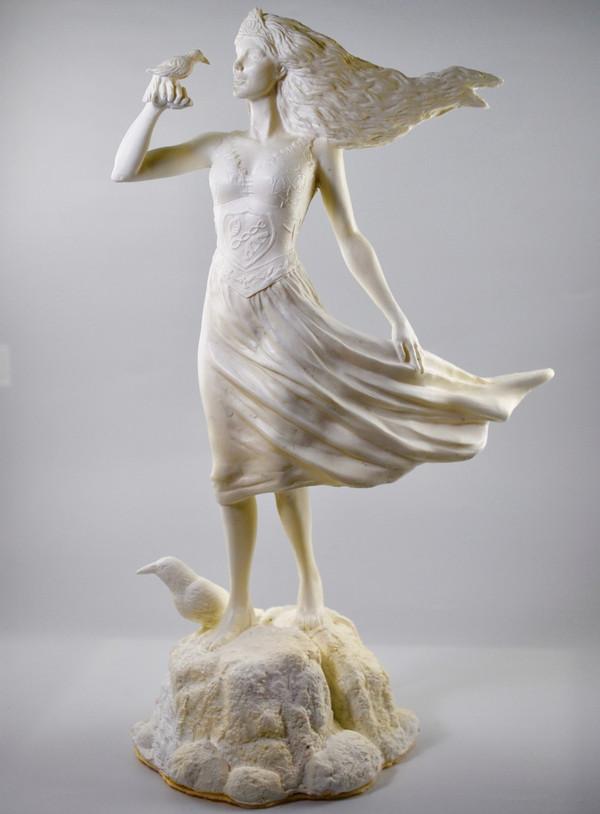 Branwen - Hand cast statue