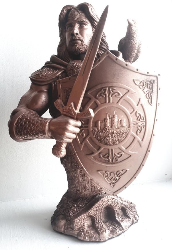 Bran - Hand cast Statue