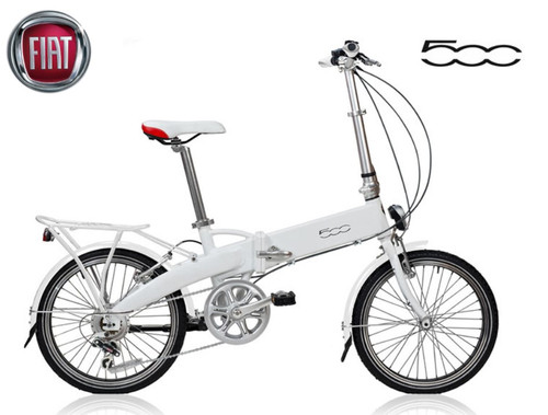 FIAT 500L Folding Electric Bicycle