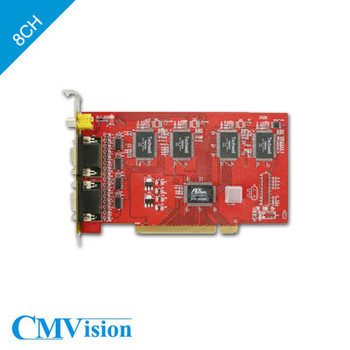 CMVision CM-208M9  8 Port with Mobile-phone remote view DVR Capture Card