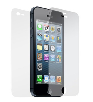 Anti Glare Matte IPhone 5 & 5C & 5S Front and Back Screen Protector