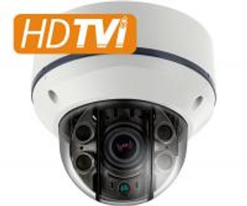 CM- HD-TVI 1080p STORM® IR Dome Camera w/ Dual Power Input