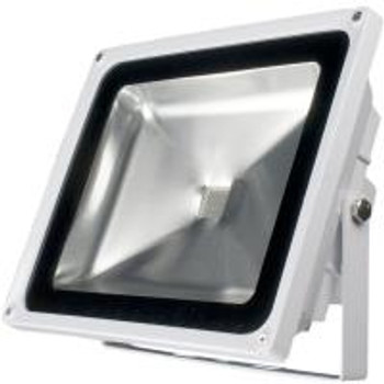 CM-RGB Color LED Flood Light with Remote Controller / IP65 / AC 120V / 50W White