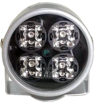 CMVision IR40 WideAngle 120 Feet 4pc Power LED IR Array Illuminator