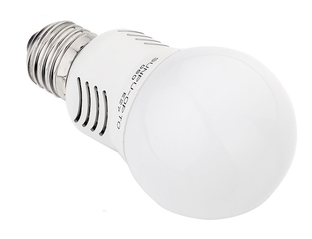 CMVision 4 Watt E26 LED Light Bulb 270 Degree Wide Angle Pure White 5000K - image 2
