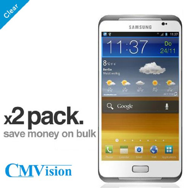 x2 Pack - Clear Front Samsung Galaxy S3 Screen Protector
