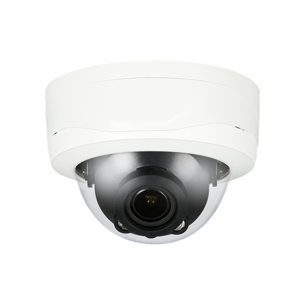 CMvision 2MP HDCVI IR Dome Camera, Max 30fps@1080P, HD and SD output switchable, 2.7-12mm motorized lens, Max. IR length 30m, Smart IR, IP67, IK10, DC12V