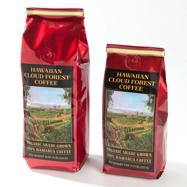Organic Hawaiian Cloud Forest Coffee