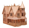 Wooden Dollhouse Kit