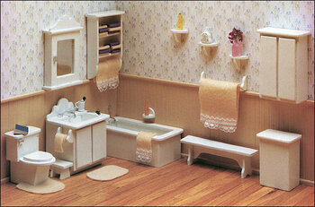 Master Bathroom Furniture Kit