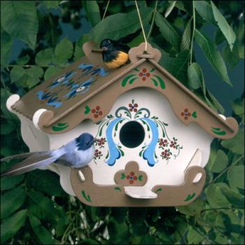 Swiss Inn Birdhouse