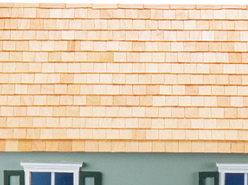 Miniature Rectangular Style Shingles