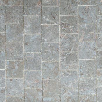 Miniature Scale Vinyl Floor Tiles Grey