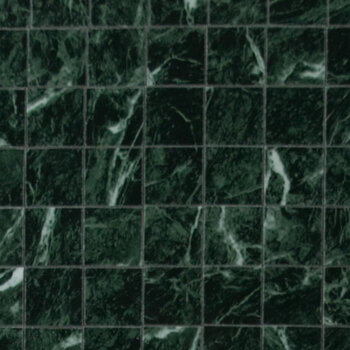 Miniature Scale Vinyl Floor Tiles Green