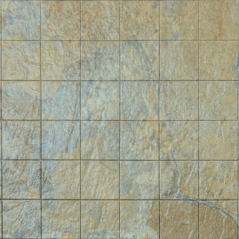 Miniature Scale Vinyl Floor Tiles Tan