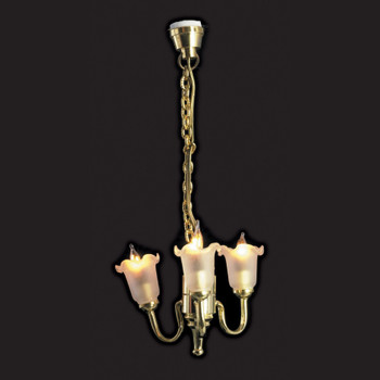 Chandelier Tulip Three Lights