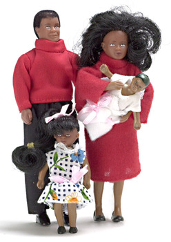 Dollhouse Doll Modern Family African American