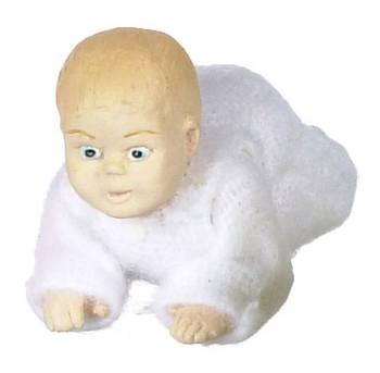 Dollhouse Doll Crawling Baby