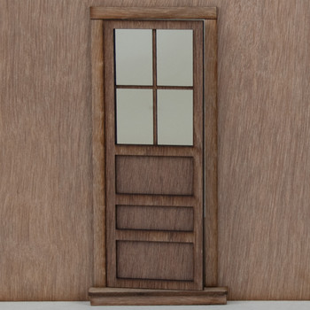 Miniature Dollhouse Panel Door