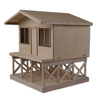 Beach Dollhouse Boardwalk Base