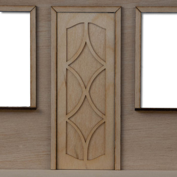 Fancy Dollhouse Door Style 1
