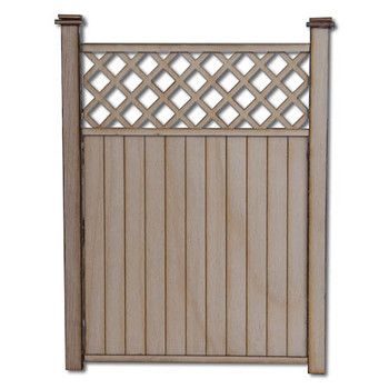 Dollhouse Privacy Fence