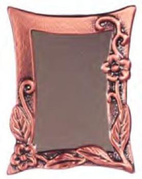 Dollhouse Antique Copper Wall Mirror