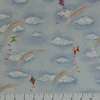 Dollhouse Wallpaper Kites/Sky