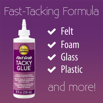 Aleene's Fast Grab Tacky Glue - 8oz