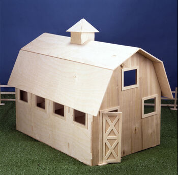 Wildwood Stable Dollhouse Kit