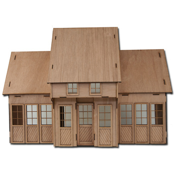 Laser Cut Contest Kit Addition One Dollhouse Kit