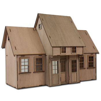 Laser Cut Contest Kit Addition Two Dollhouse Kit