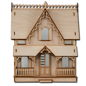 Laser Cut Half Scale Arthur Dollhouse Kit