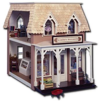 Laser Cut Brimble's Mercantile Dollhouse Kit