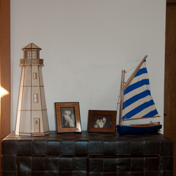 Laser Cut Half Scale Lighthouse Dollhouse Kit
