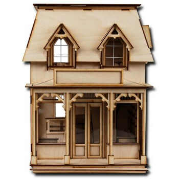 Laser Cut Half Scale Brimble's Mercantile Dollhouse Kit