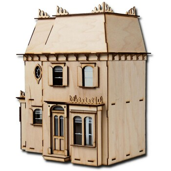 Laser Cut Half Scale Rosedale Dollhouse Kit