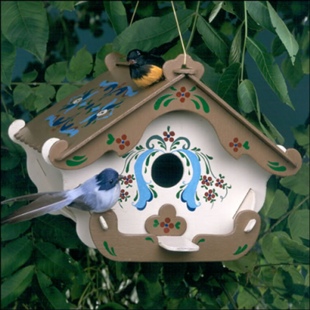 Swiss Inn Birdhouse