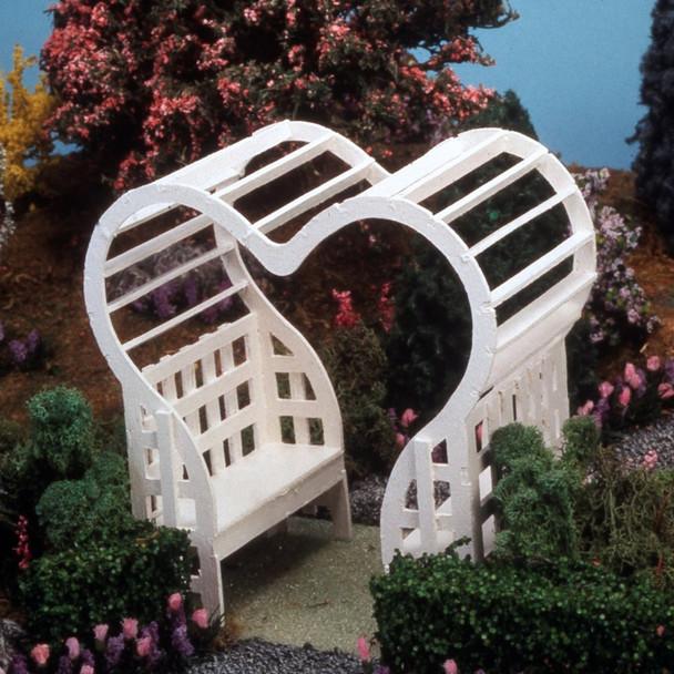 Wooden Heart Arbor Kit