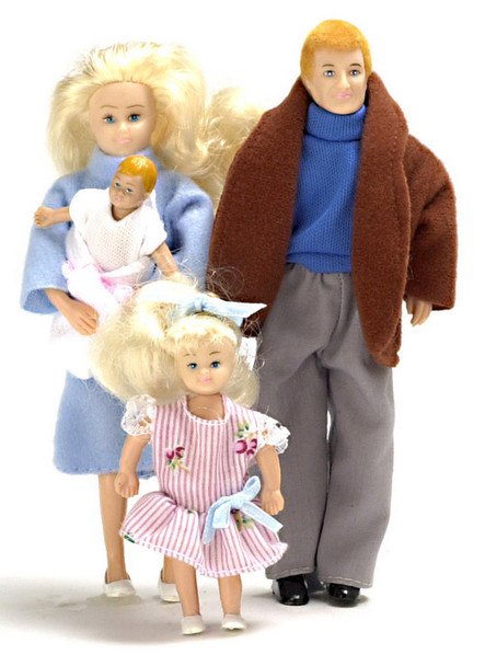 Dollhouse Doll Modern Family Blonde Hair
