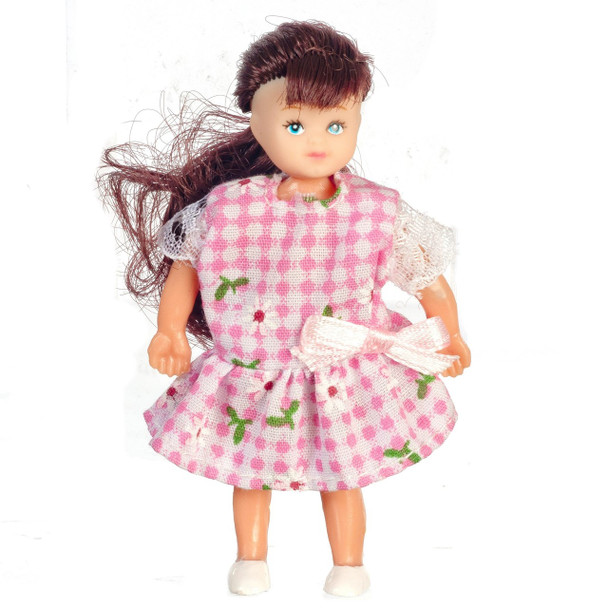 Dollhouse Doll Brunette Girl