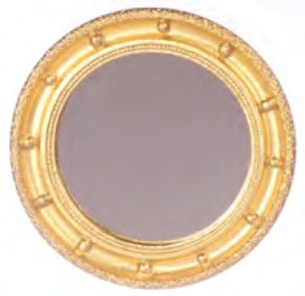 Dollhouse Round Wall Mirror
